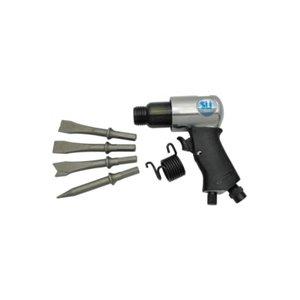 Пневмошлифмашина ST-7732МК с набором шарошек в пластиковом кейсе