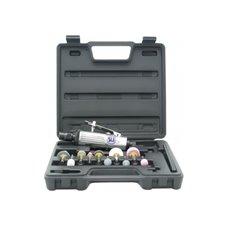 Пневмо плоскошлифовальная машинка ST-7718 с прищепкой 90х197мм, 8000об/мин