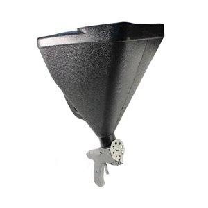 Пневмоорбит.шл.маш. ST-7107C (d150мм, 10000об/мин) с мешком для пыли